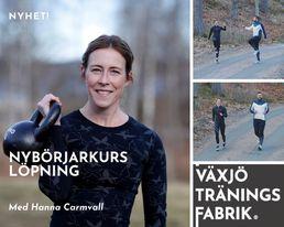 Växjö Träningsfabrik Löparkurs nybörjarkurs
