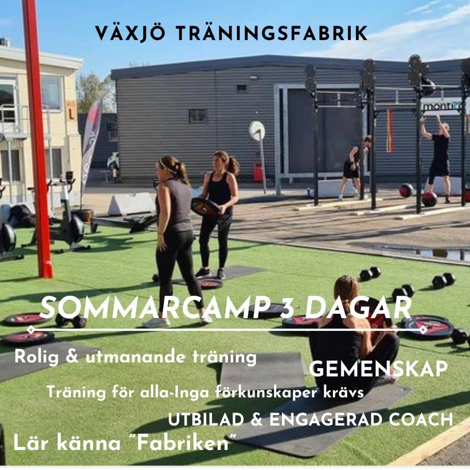 Somarcamp Växjö träningsfabrik
